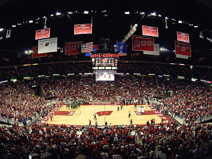 Wisconsin Badgers Kohl Center Photograph
