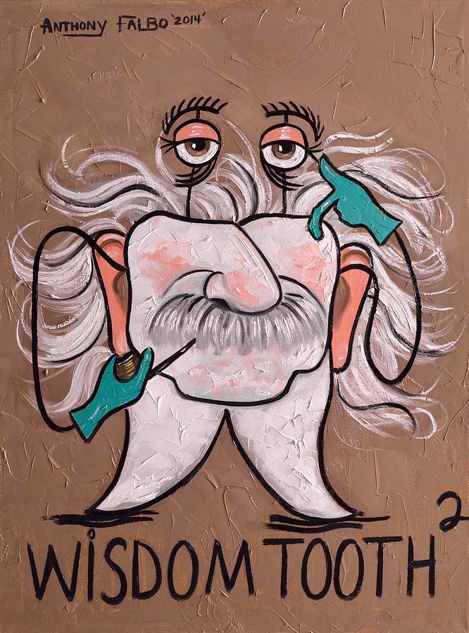 Wisdom Tooth 2 Painting