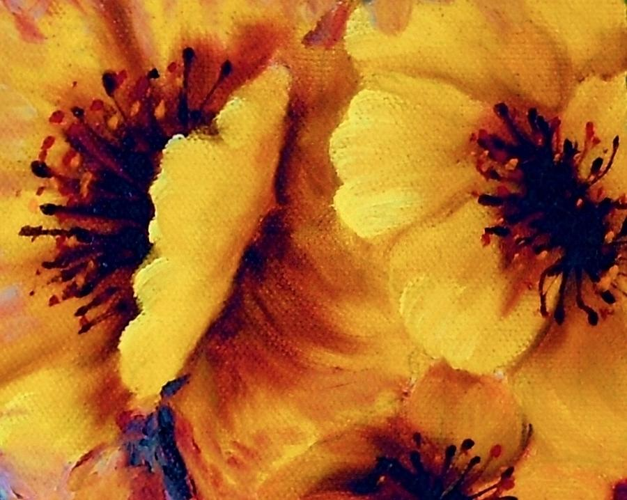 Wish Upon A Yellow Petal Painting  - Wish Upon A Yellow Petal Fine Art Print