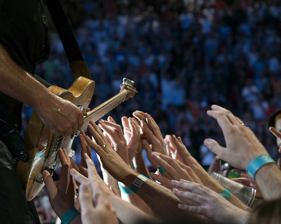 Springsteen Photograph - With These Hands by Jeff Ross