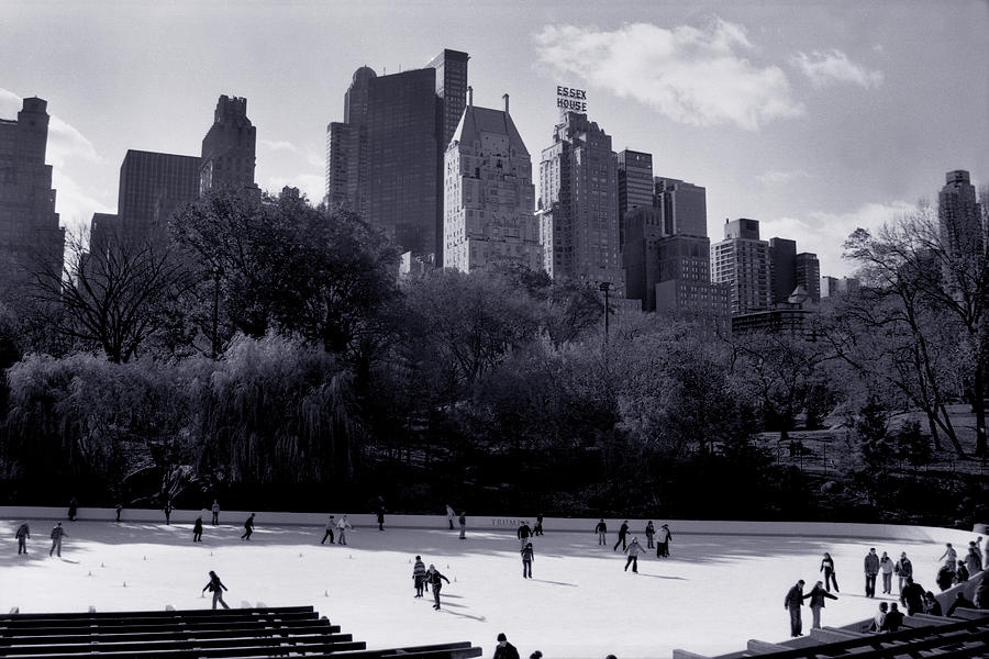 New York City Photograph - Wollman Rink by Tonino Guzzo