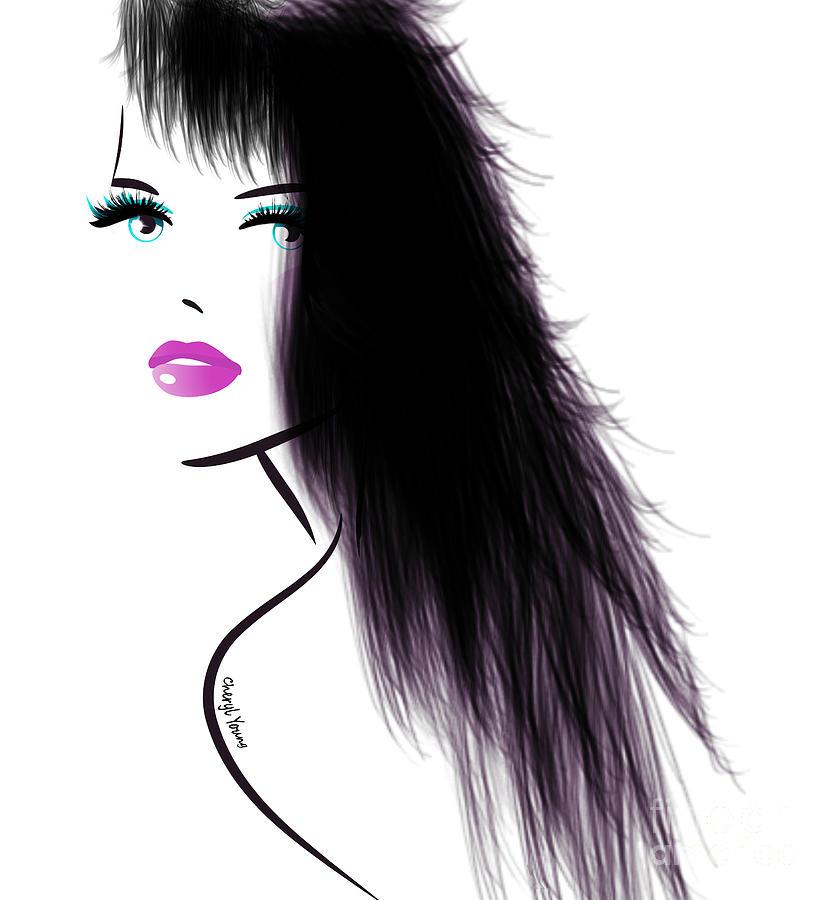Woman Digital Art - Woman 5 by Cheryl Young