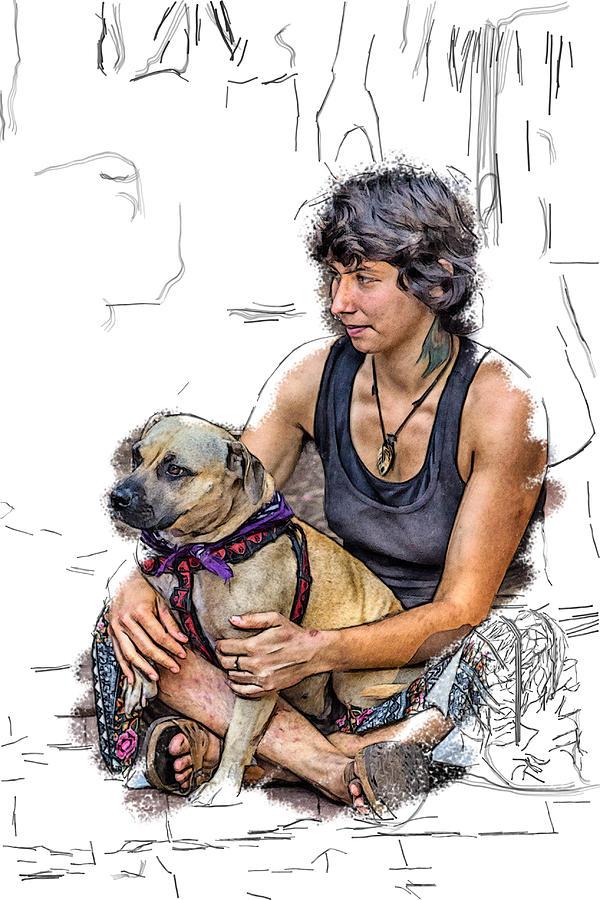 Appalachia Digital Art - Womans Best Friend by John Haldane