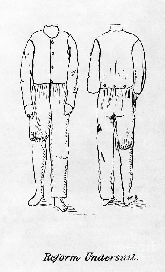 Womens Undergarment, 1878 Photograph
