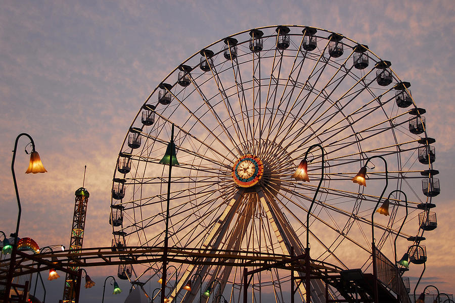 Ocean City Photograph - Wonderland Sunset by Dan Myers