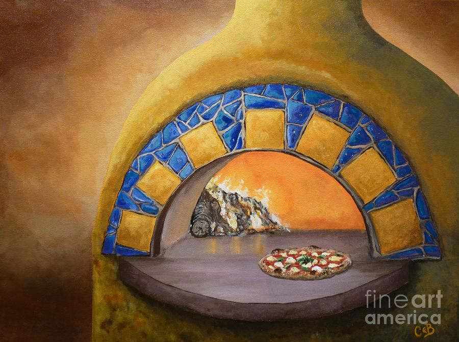 Wood Fired Painting  - Wood Fired Fine Art Print