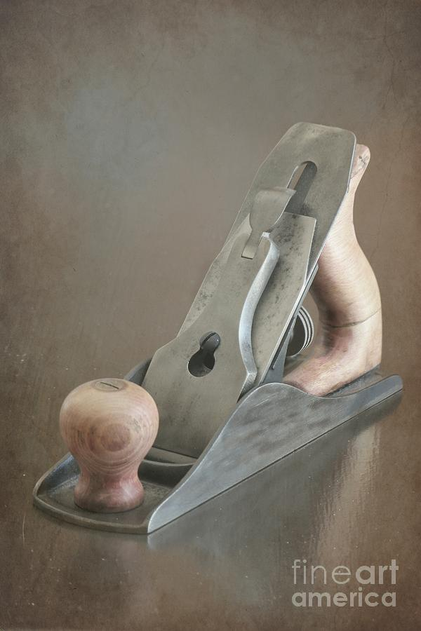 Tool Photograph - Wood Plane by Sophie Vigneault