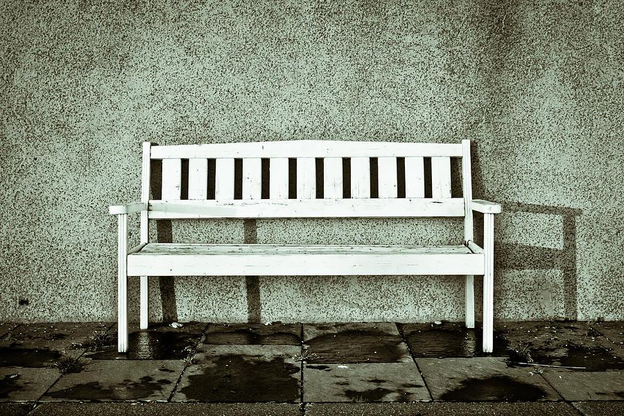 Wooden Bench Photograph