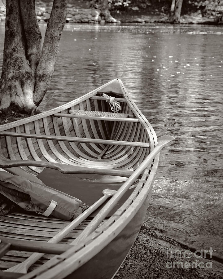 Wooden Canoe Photograph