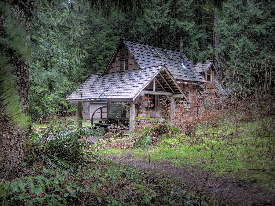 Woodland Cabin Photograph  - Woodland Cabin Fine Art Print