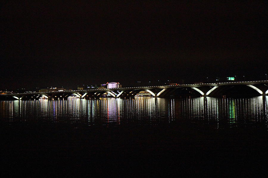 Woodrow Wilson Bridge - Washington Dc - 011344 Photograph  - Woodrow Wilson Bridge - Washington Dc - 011344 Fine Art Print