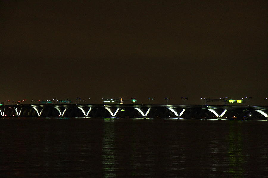 Washington Photograph - Woodrow Wilson Bridge - Washington Dc - 01138 by DC Photographer