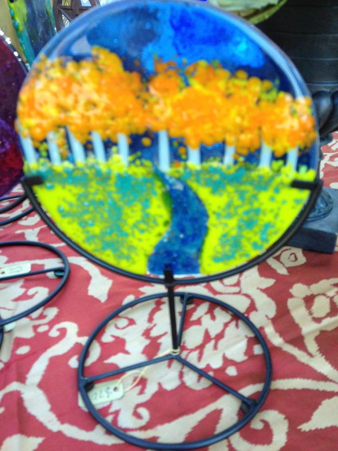Woods Mini Scape Glass Art