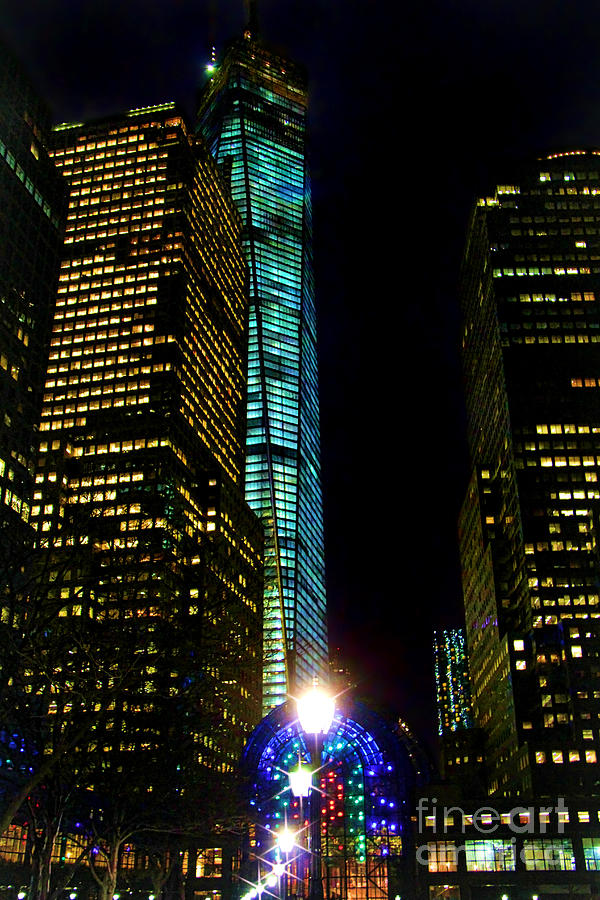 World Financial Center Photograph