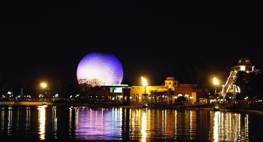 Walt Disney Photograph - World Showcase 2 by Jenny Hudson