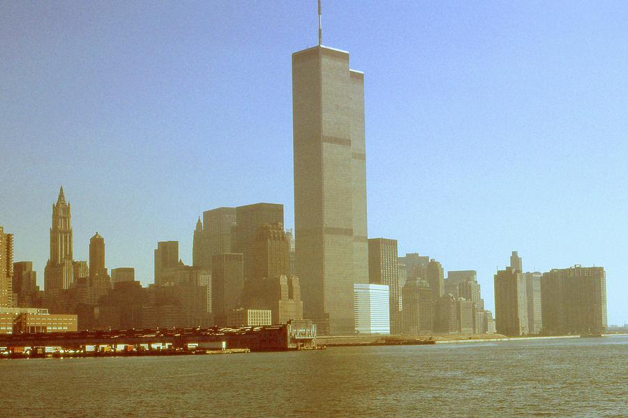 World Trade Center Before September 11th 2001 - New York City Photograph