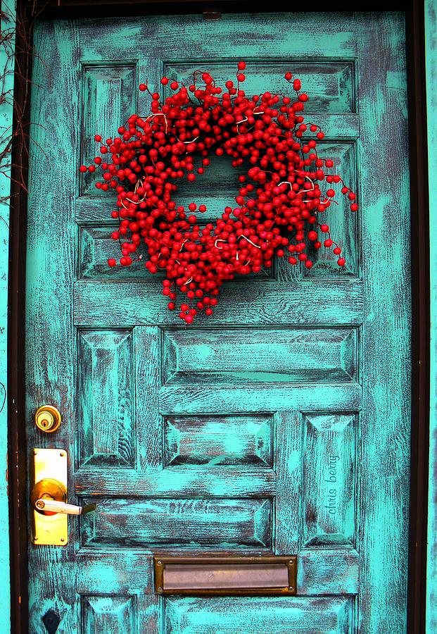 Wreath Of Berries Photograph  - Wreath Of Berries Fine Art Print