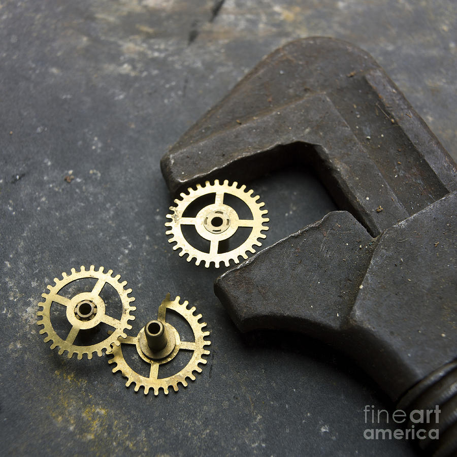 Wrench Photograph  - Wrench Fine Art Print