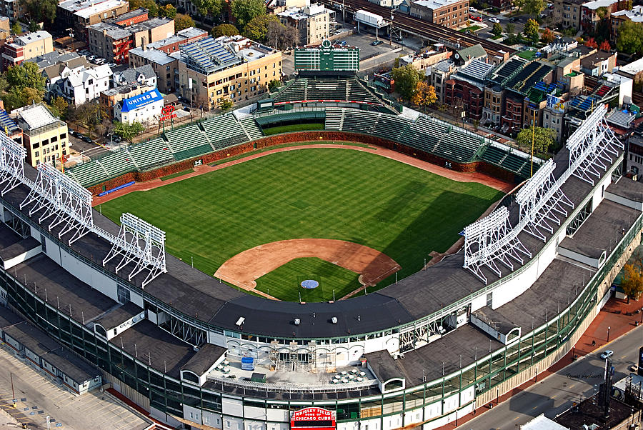 Wrigley Field Chicago Sports 03 Photograph By Thomas Woolworth