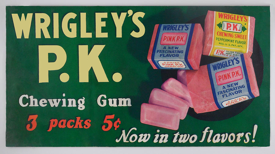 the process of making a wrigleys gum Tcg - trident gum trident is the world wrigley's gum has become iconic for america this process makes your personalized product look clean and professional.