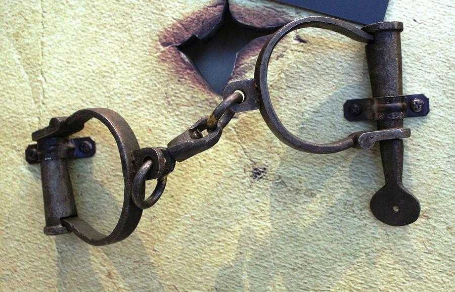 Handcuff Photograph - Wrist Bracelets by Steven Parker