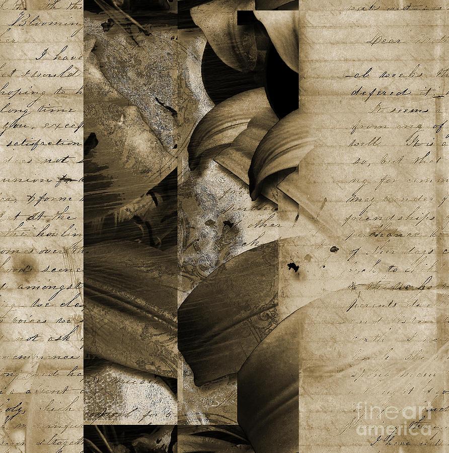 Mixed Media - Written II by Yanni Theodorou