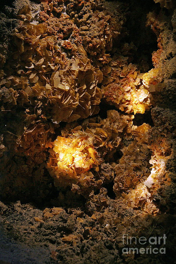 Wulfenite Cave Photograph  - Wulfenite Cave Fine Art Print