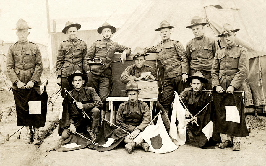 Wwi Us Army Signal Corps Photograph
