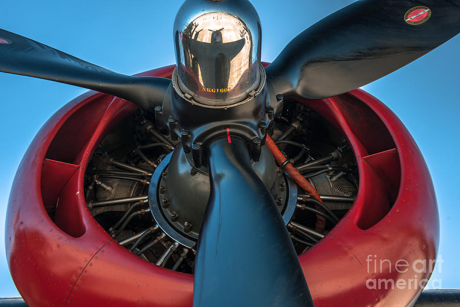 Wwii Propeller Photograph