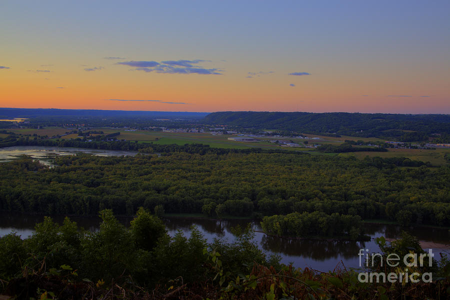 Wyalusing Bluff Photograph  - Wyalusing Bluff Fine Art Print