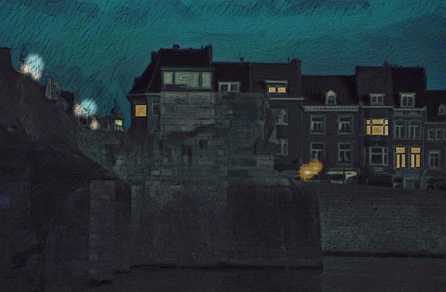 Wyck By Night Painting