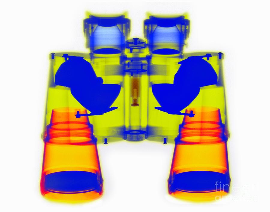 X-ray Of Binoculars Photograph