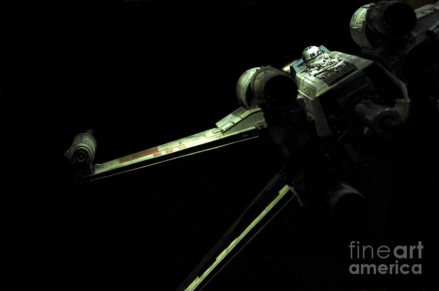 X-wing Photograph - X-wing Fighter by Micah May