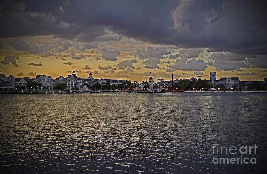 Yacht And Beach Club Villas - Walt Disney World Photograph