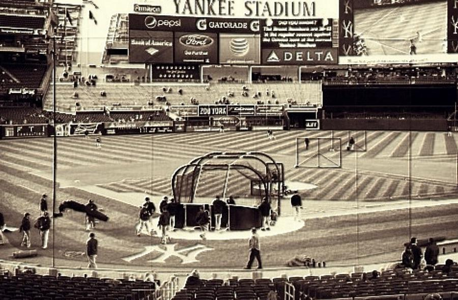Yankee Stadium Mixed Media