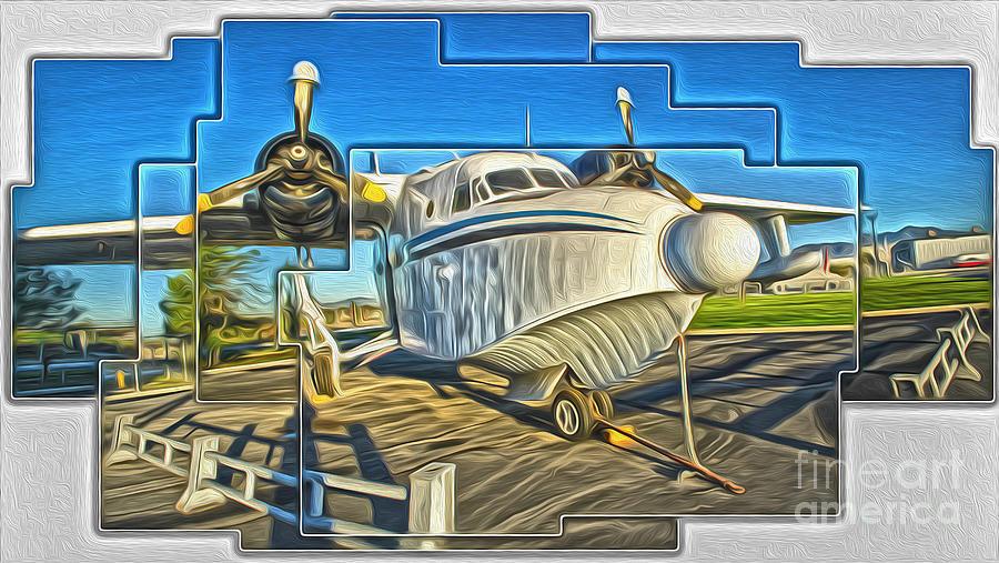 Yanks Air Museum Painting