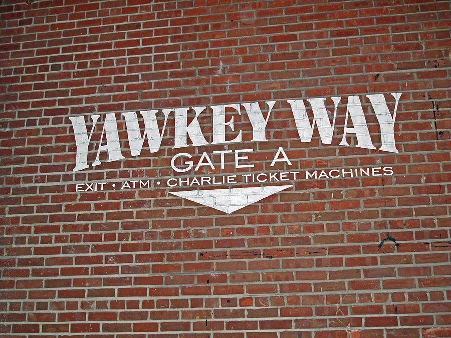 Yawkey Way Photograph