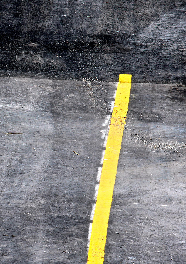 Yellow Line Photograph