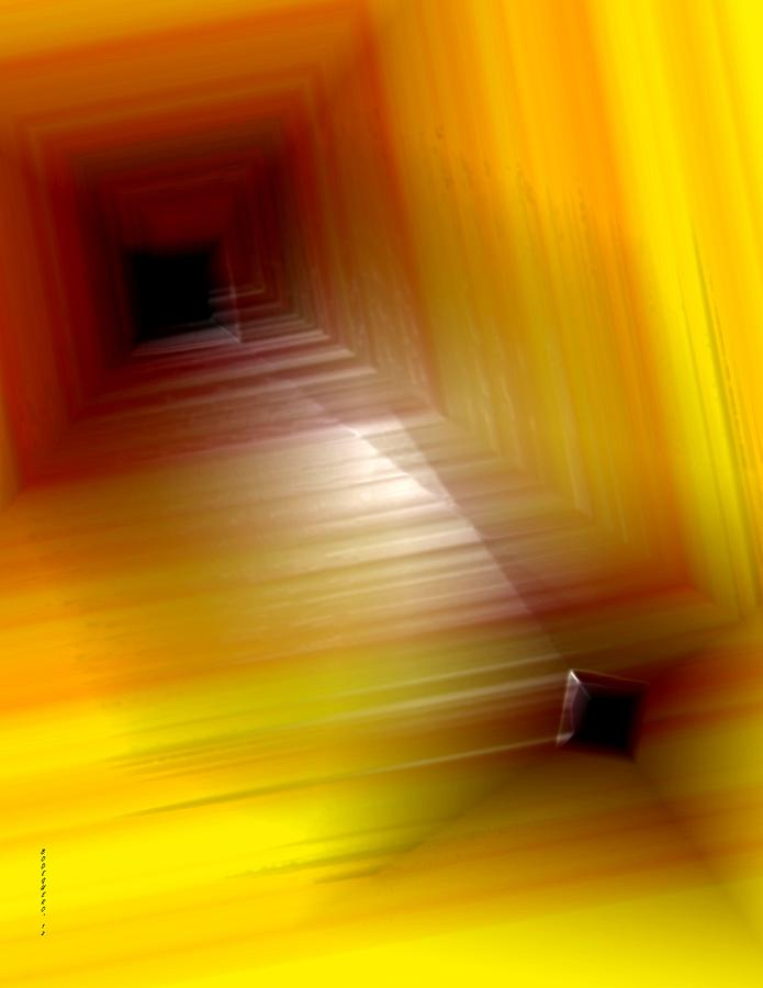 Yellow Mixture Digital Art  - Yellow Mixture Fine Art Print