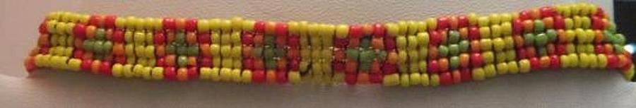 Yellow Orange Red And Green Bracelet Jewelry