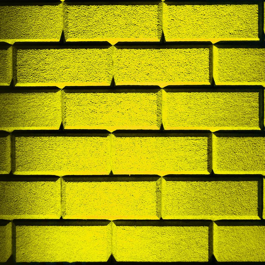Yellow Wall Photograph  - Yellow Wall Fine Art Print