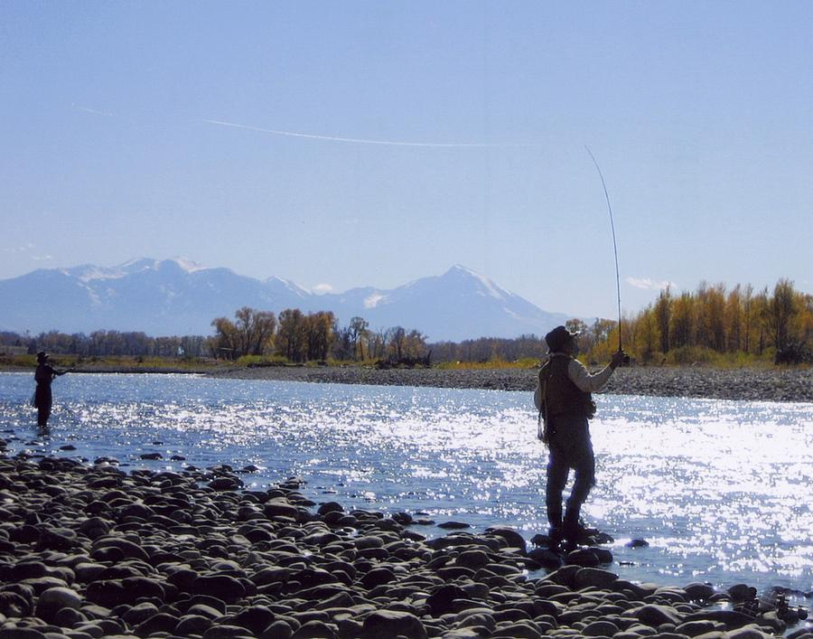 Yellowstone river fly fishing photograph by jeffery akerson for Fly fishing yellowstone river