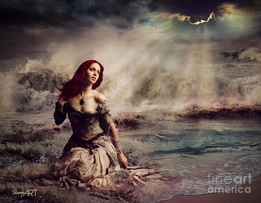Yemaya Goddess Of The Sea Digital Art