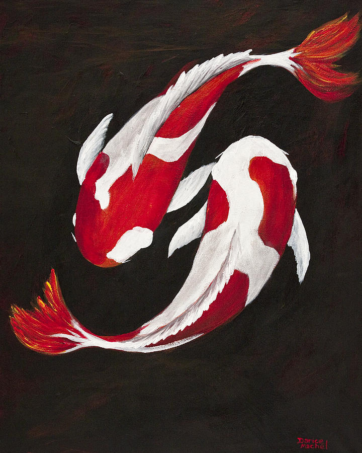 Yin And Yang Painting  - Yin And Yang Fine Art Print