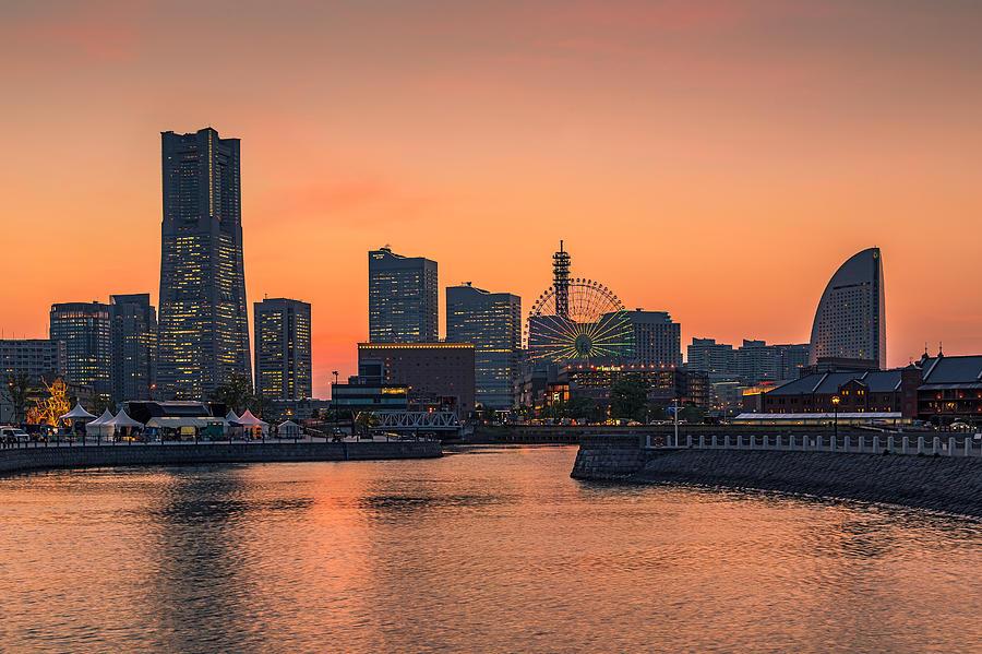 Yokohama Photograph - Yokohama 03 by Tom Uhlenberg