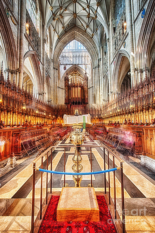 York Minster V Photograph