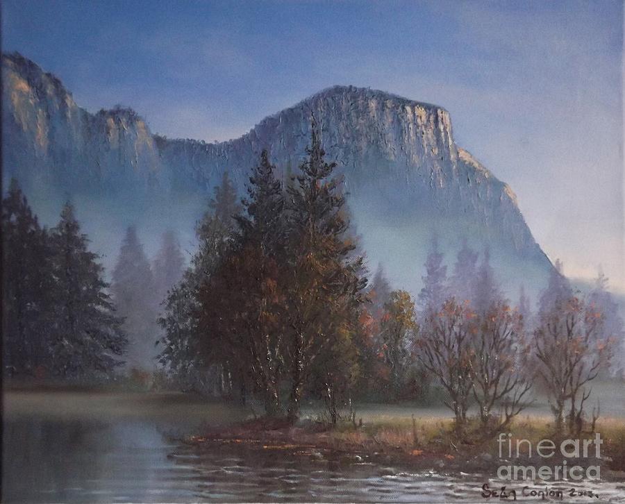 Yosemite Dawn Painting