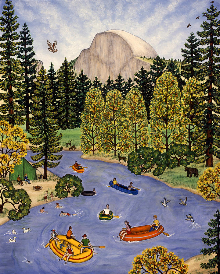 Yosemite National Park Painting