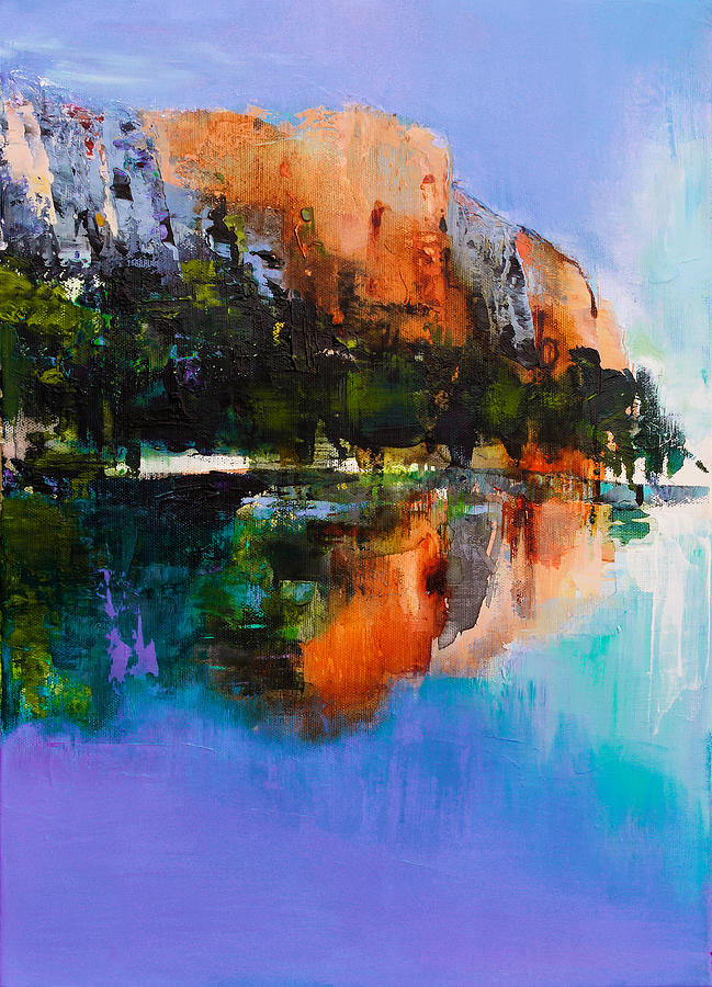 Yosemite Valley Painting
