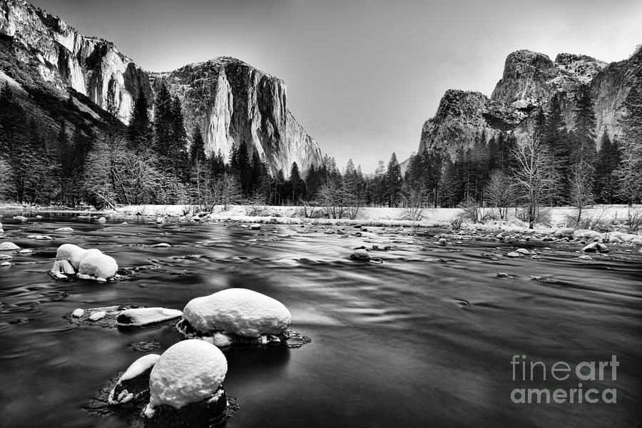 Yosemite Valley Photograph  - Yosemite Valley Fine Art Print